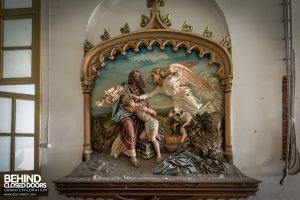 Monastero MG, Italy - Religious scene