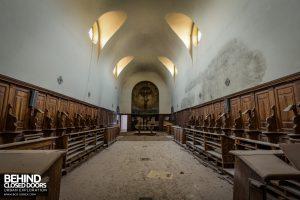 Monastero MG, Italy - The chapel