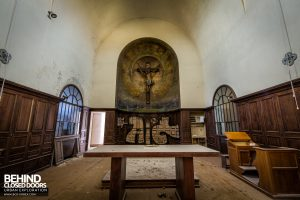 Monastero MG, Italy - The altar