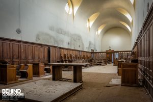 Monastero MG, Italy - Chapel from front