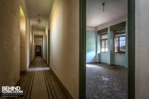 Monastero MG, Italy - Corridor