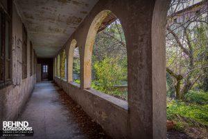 Monastero MG, Italy - External arches
