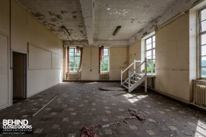 RAF West Raynham - Decaying room