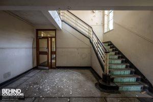 RAF West Raynham - Staircase