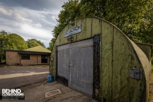 RAF West Raynham - Squadron Garage
