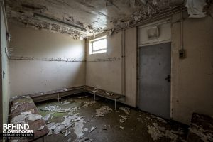 RAF West Raynham - Changing room