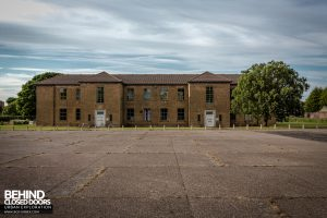 RAF West Raynham - Building and courtyard