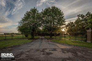RAF West Raynham - Front gates