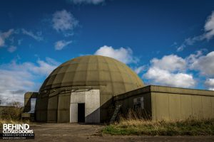 RAF West Raynham - Dome external