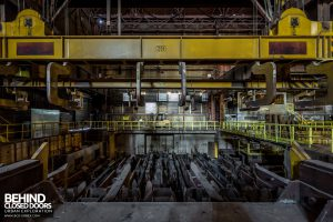 S.M. Steel Works, Belgium - Lifting and cooling equipment