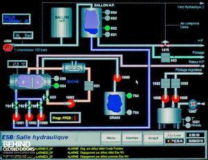 S.M. Steel Works, Belgium - Process control computer