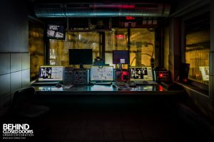 S.M. Steel Works, Belgium - Dark control room