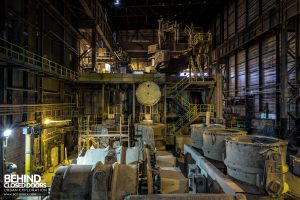 S.M. Steel Works, Belgium - Production area