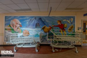 Alder Hey - Murals and beds