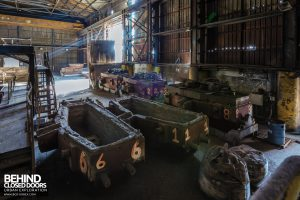 Thamesteel Sheerness - Trucks ready for use