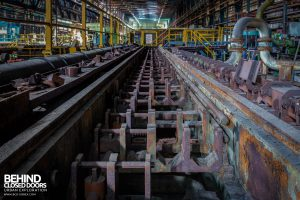 Thamesteel Sheerness - Conveyor tracks
