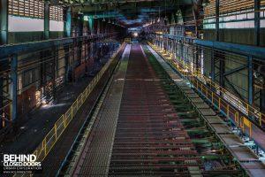 Thamesteel Sheerness - Cooling conveyor