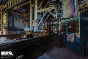 Thamesteel Sheerness - Work areas