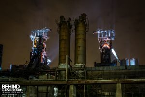 Belval Blast Furnaces - View from the ground