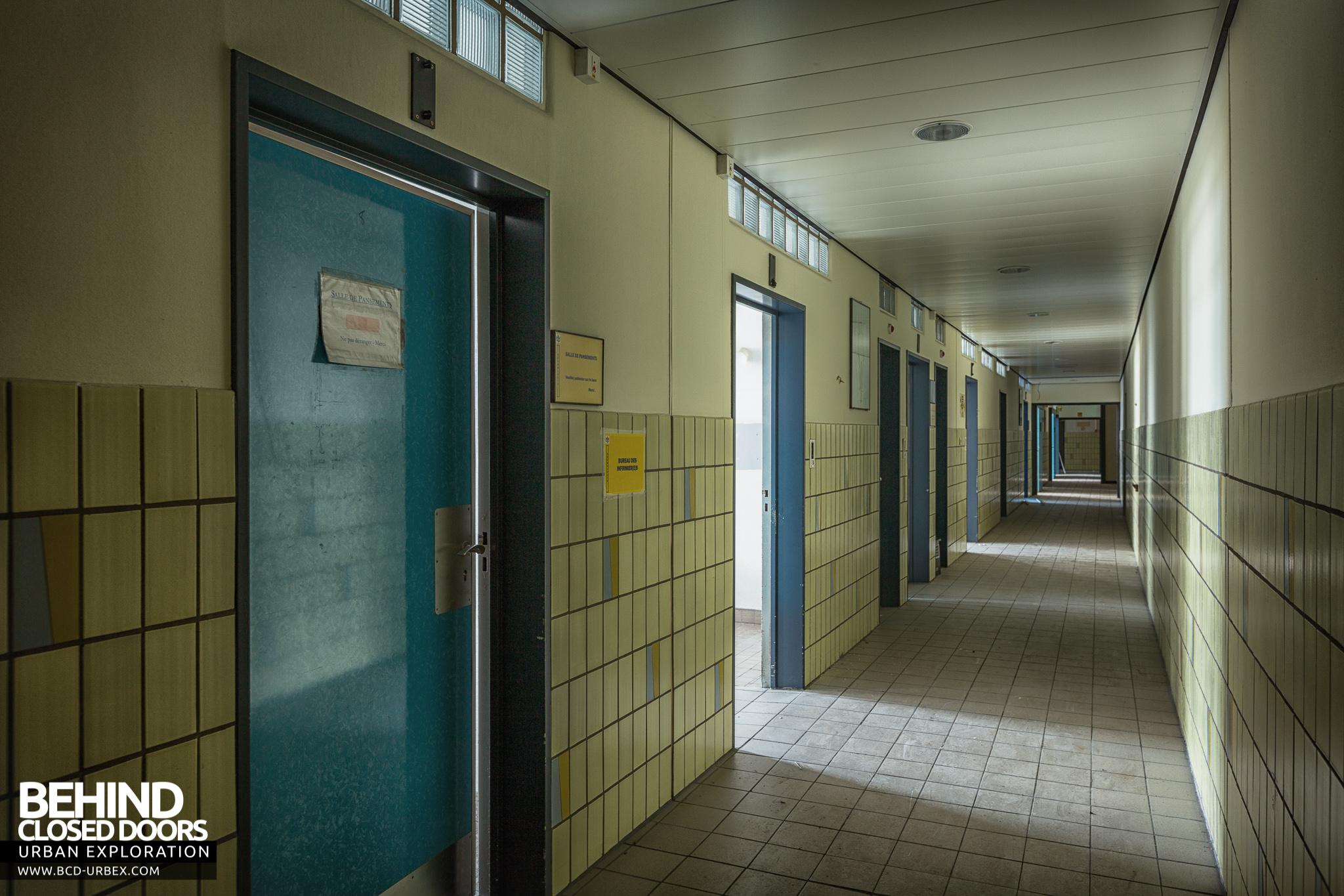 H 244 Pital Civil De Charleroi Abandoned Hospital Belgium