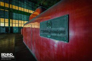Centrale de Schneider - Cie Electro-Mecanique Nameplate