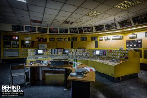 Centrale de Schneider, France - Control room
