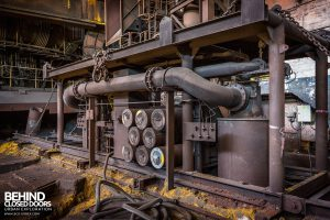 HF4 Blast Furnace, Belgium - Equipment