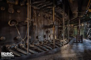 HF4 Blast Furnace, Belgium - Rows of pipes