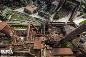 HF4 Blast Furnace, Belgium - Looking down