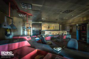 HF4 Blast Furnace, Belgium - Control room