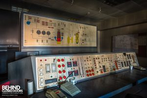 HF4 Blast Furnace, Belgium - Control panels