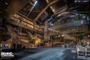 HF4 Blast Furnace, Belgium - Work space