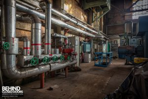 HF4 Blower House, Belgium - Steam pipes