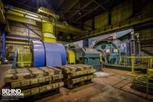Kellingley Colliery - Winding house No. 1