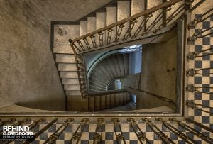 Palace Casino, Italy - Square staircase