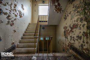 RAF Thurleigh - Staircase