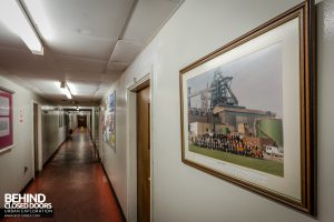 Redcar Blast Furnace - Office corridor