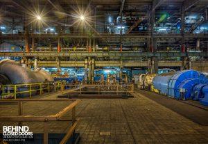 Redcar Power Station - Compressor and turbine