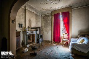 Manoir DP, Belgium - Living room