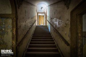 Villa Sbertolli, Italy - Stairs