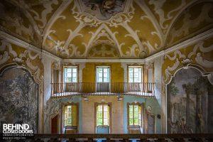 Villa Sbertolli, Italy - Balcony view