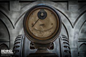 Central Electrique Ohm, Belgium - Ammeter dial
