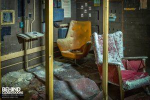 Danilo Cinema, Hinckley - Projectionists seat