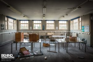 Holly Lodge, Liverpool - Messy classroom
