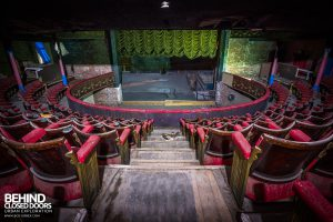 Theatre Royal, Hyde - View from back