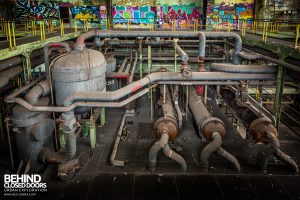 Central Thermique, Luxembourg - Pipes