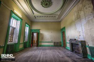 Tottenham House - Light green room