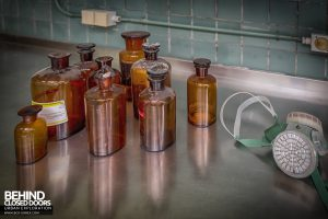 Twin Morgue, Belgium - Jars on the side