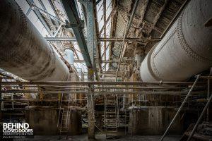 Winnington Works - Under the dissolvers