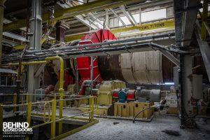 Winnington Works - Heavy ash mixer